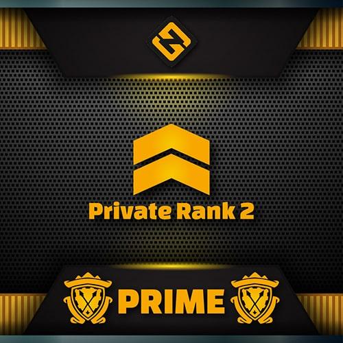 csgo private rank two pr2 prime account