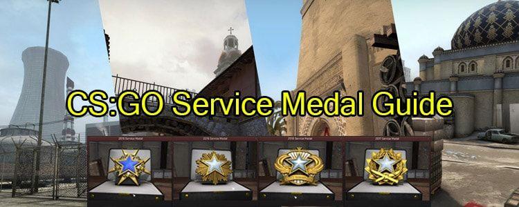 CSGO Service Medal Guide