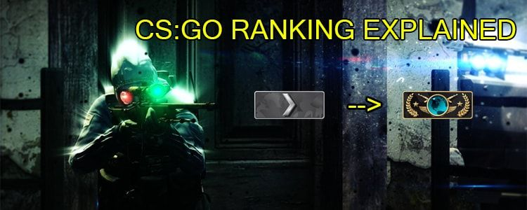 how to rank up on cs go